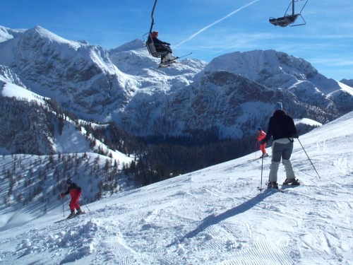 Winter Ski Alpin